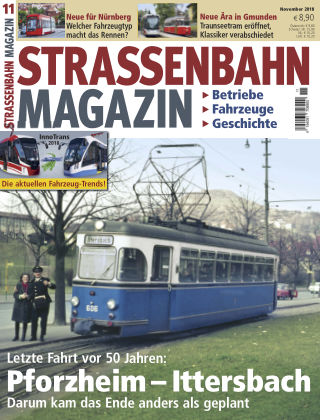 Straßenbahn Magazin 11_2018