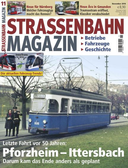 Straßenbahn Magazin October 19, 2018 00:00