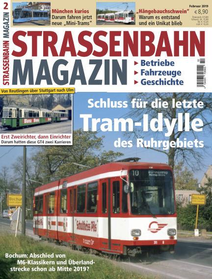 Straßenbahn Magazin January 25, 2019 00:00