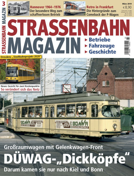 Straßenbahn Magazin February 22, 2019 00:00