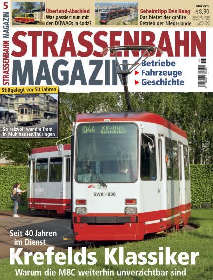 Straßenbahn Magazin April 26, 2019 00:00
