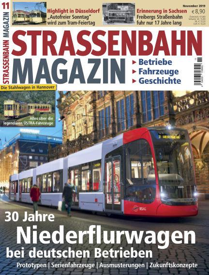 Straßenbahn Magazin October 18, 2019 00:00