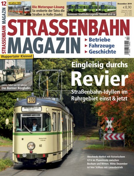 Straßenbahn Magazin November 22, 2019 00:00
