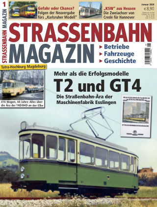 Straßenbahn Magazin 01_2020
