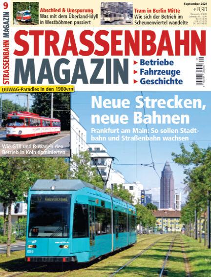 Straßenbahn Magazin August 27, 2021 00:00