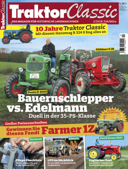 Traktor Classic February 10, 2018 00:00