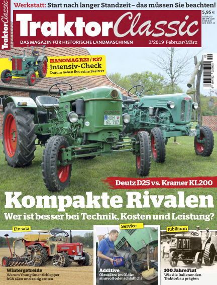 Traktor Classic January 02, 2019 00:00