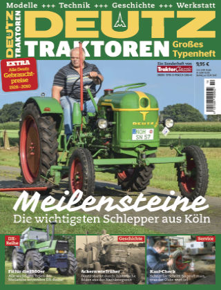 Traktor Classic Deutz Traktoren