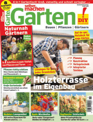 selber machen Garten Garten 01_2021