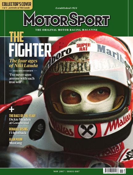 Motor Sport September 26, 2017 00:00