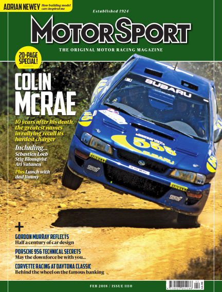 Motor Sport January 27, 2018 00:00