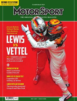 Motor Sport December 2017