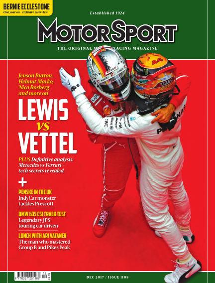 Motor Sport October 16, 2017 00:00