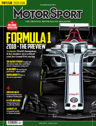 Motor Sport April2018