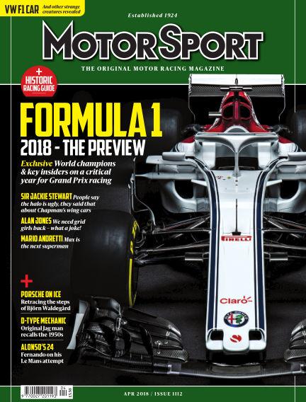 Motor Sport March 02, 2018 00:00