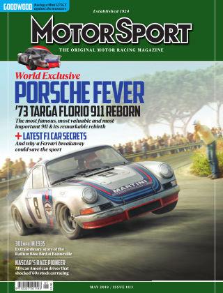 Motor Sport May 2018