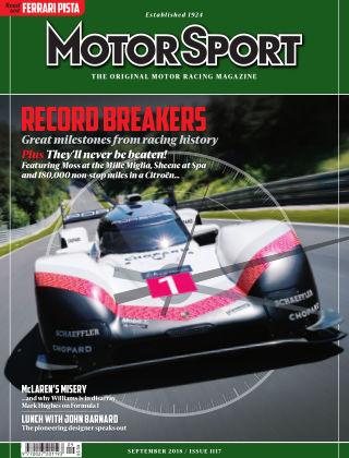 Motor Sport September 2018