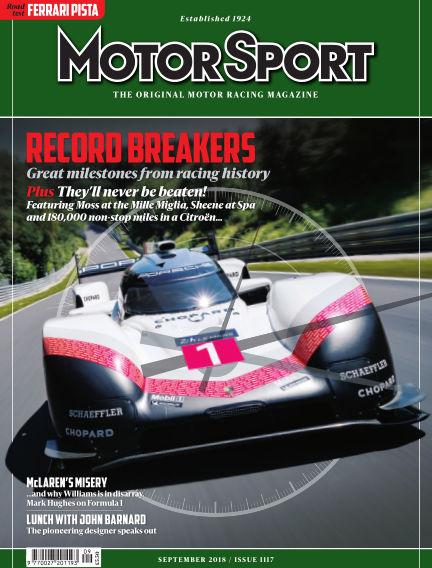 Motor Sport July 27, 2018 00:00