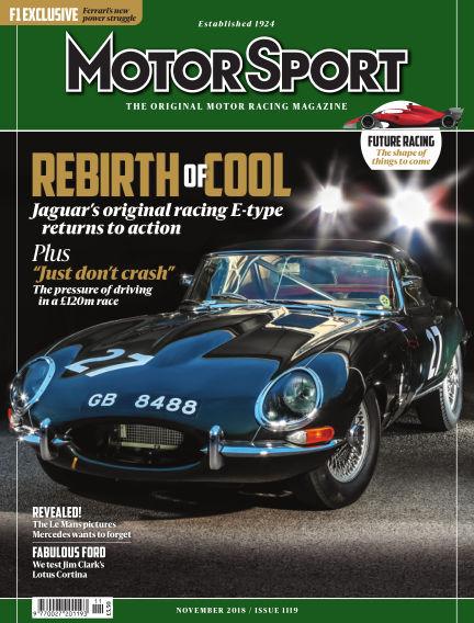 Motor Sport September 28, 2018 00:00