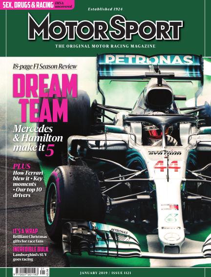 Motor Sport December 05, 2018 00:00