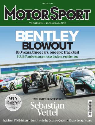 Motor Sport August 2019