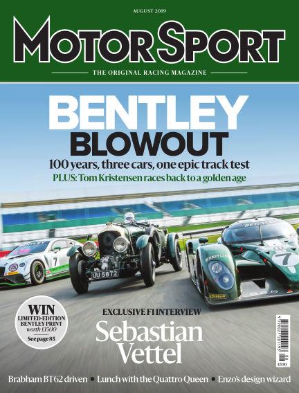 Motor Sport June 26, 2019 00:00