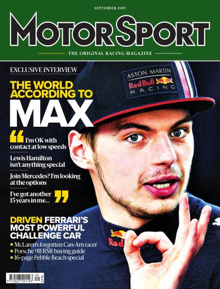 Motor Sport July 31, 2019 00:00