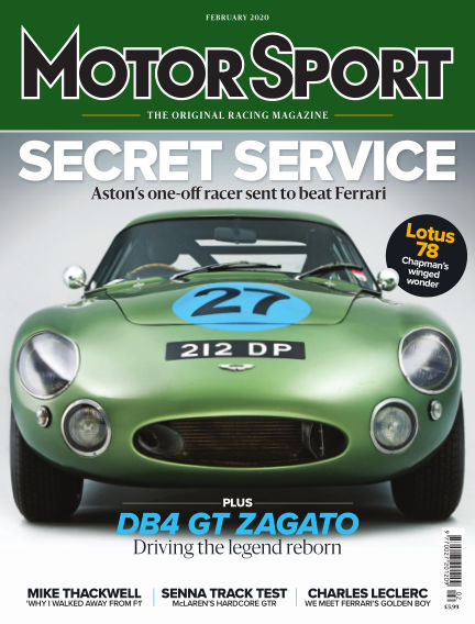 Motor Sport January 01, 2020 00:00