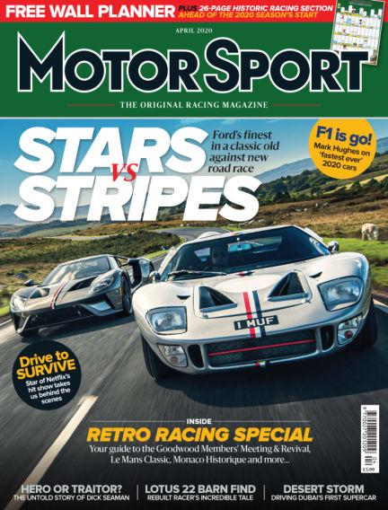 Motor Sport March 03, 2020 00:00