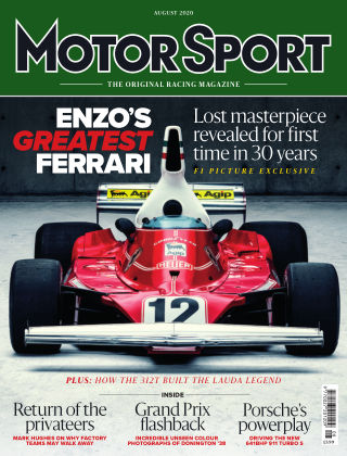 Motor Sport August 2020