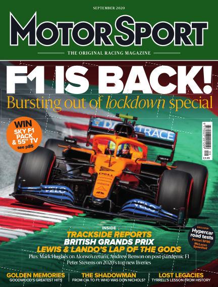Motor Sport July 21, 2020 00:00