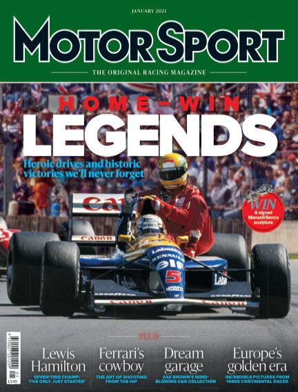 Motor Sport November 24, 2020 00:00