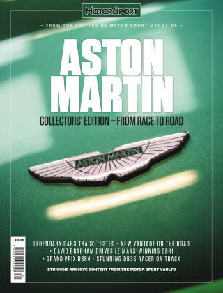 Aston Martin: From Race to Road Issue 1