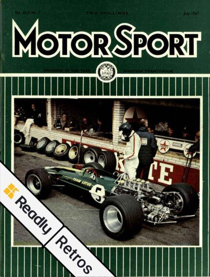 Motor Sport: Readly Retros