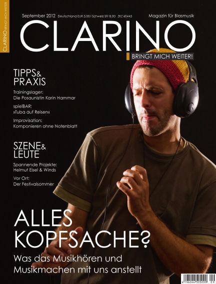 CLARINO September 01, 2012 00:00