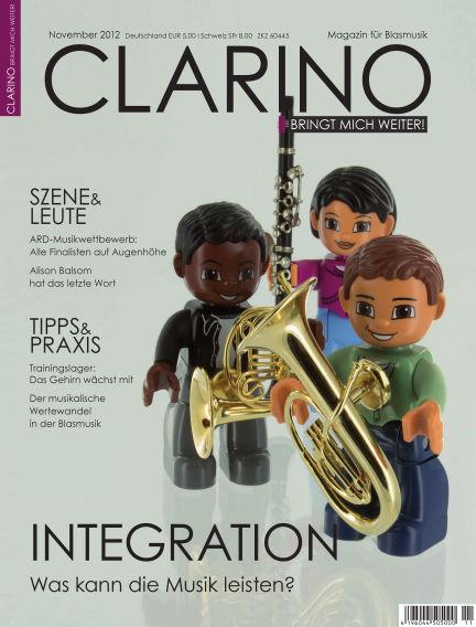 CLARINO November 01, 2012 00:00