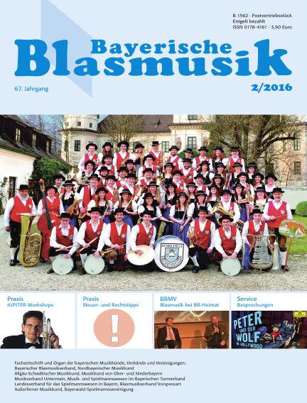 Bayerische Blasmusik February 01, 2016 00:00