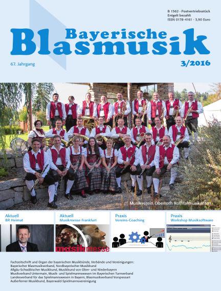 Bayerische Blasmusik March 01, 2016 00:00