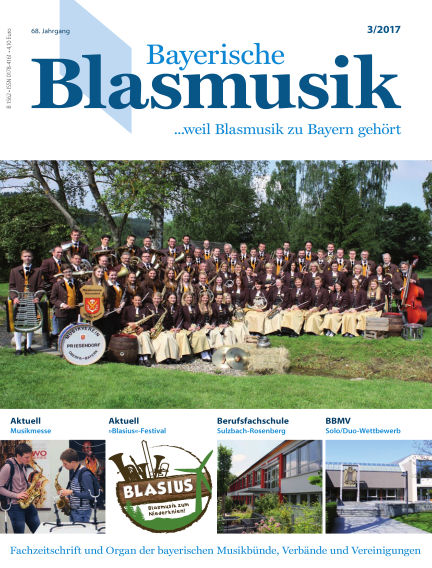 Bayerische Blasmusik March 01, 2017 00:00