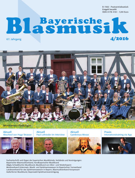 Bayerische Blasmusik April 01, 2016 00:00