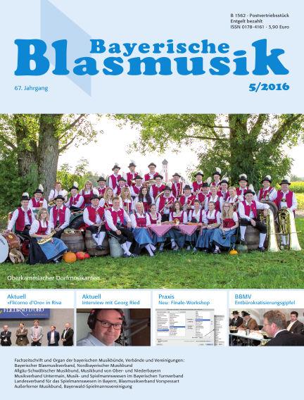 Bayerische Blasmusik May 01, 2016 00:00