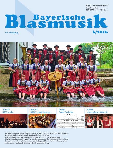 Bayerische Blasmusik June 01, 2016 00:00