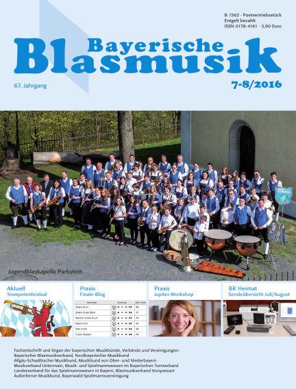 Bayerische Blasmusik July 01, 2016 00:00