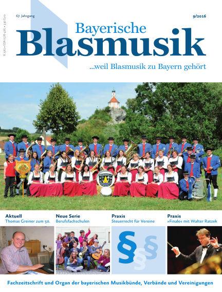 Bayerische Blasmusik September 01, 2016 00:00