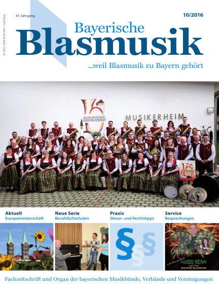 Bayerische Blasmusik October 01, 2016 00:00
