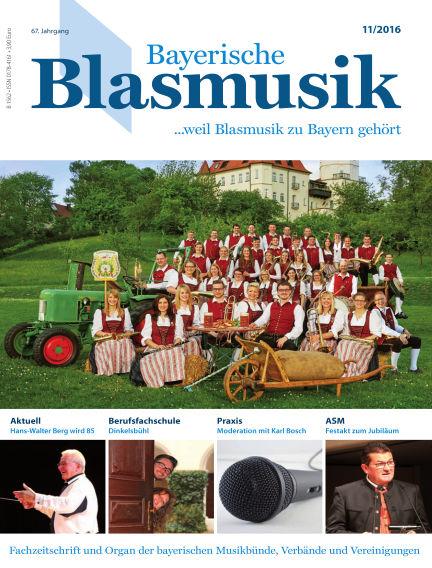 Bayerische Blasmusik November 01, 2016 00:00