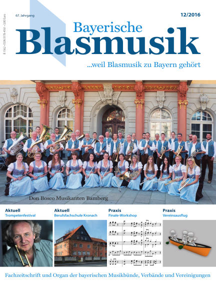 Bayerische Blasmusik December 01, 2016 00:00