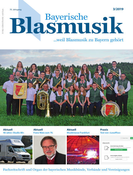Bayerische Blasmusik March 05, 2019 00:00