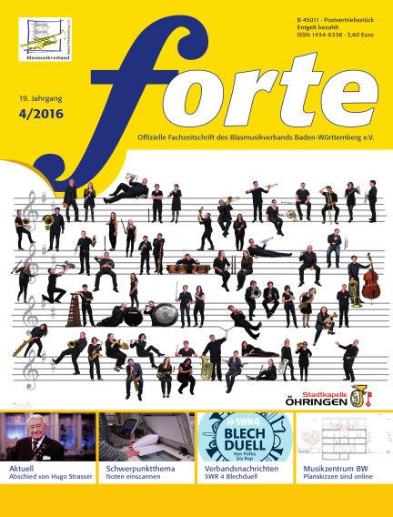 Forte April 01, 2016 00:00