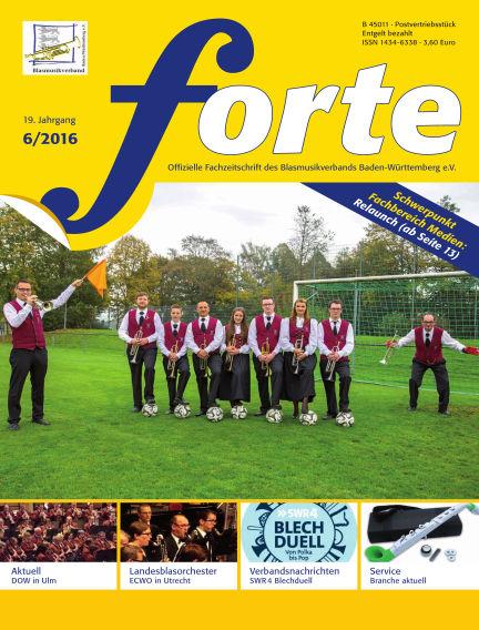 Forte June 01, 2016 00:00